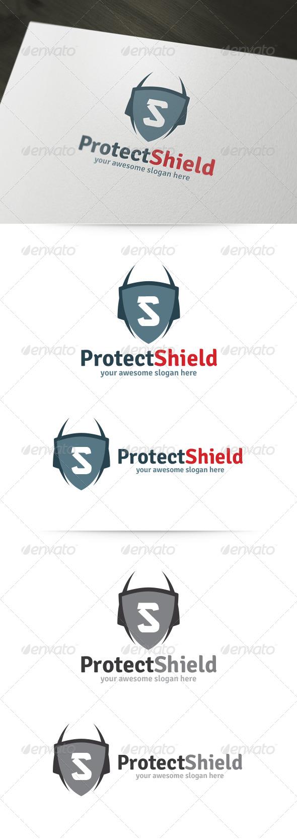 Protect Shield Logo - Crests Logo Templates