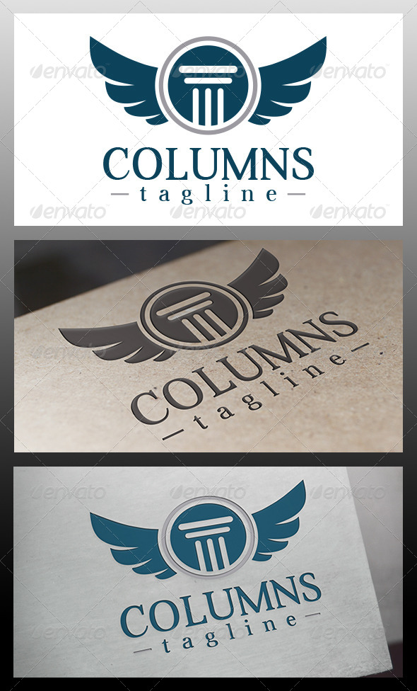 Law Firm Crest Logo Template - Crests Logo Templates