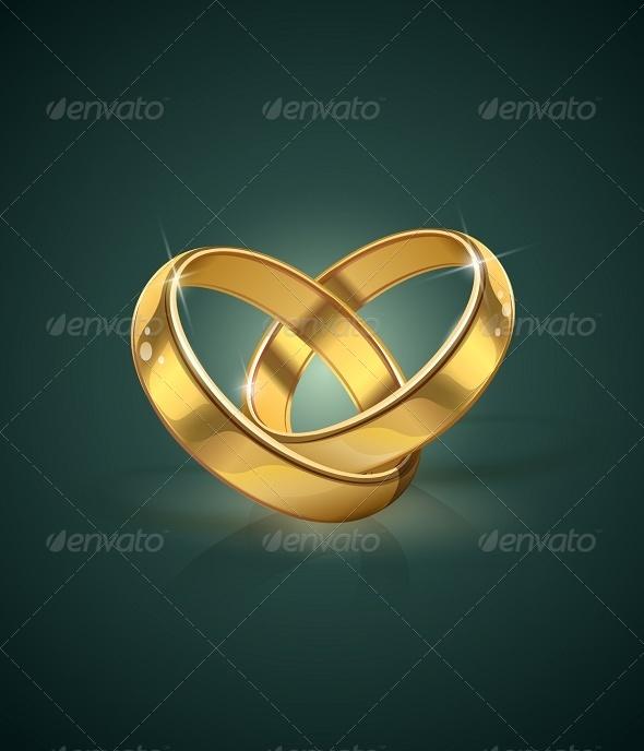 Golden Wedding Rings - Weddings Seasons/Holidays