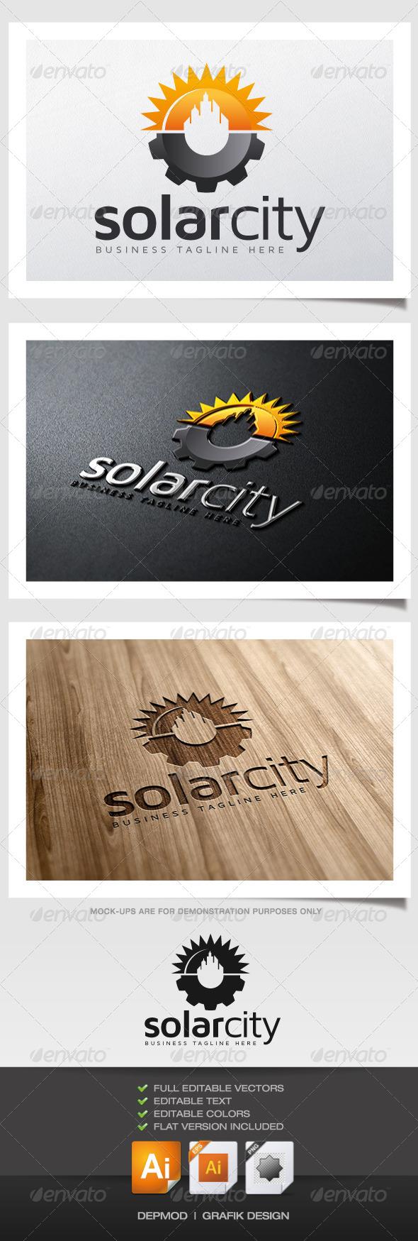 Solar City Logo - Symbols Logo Templates