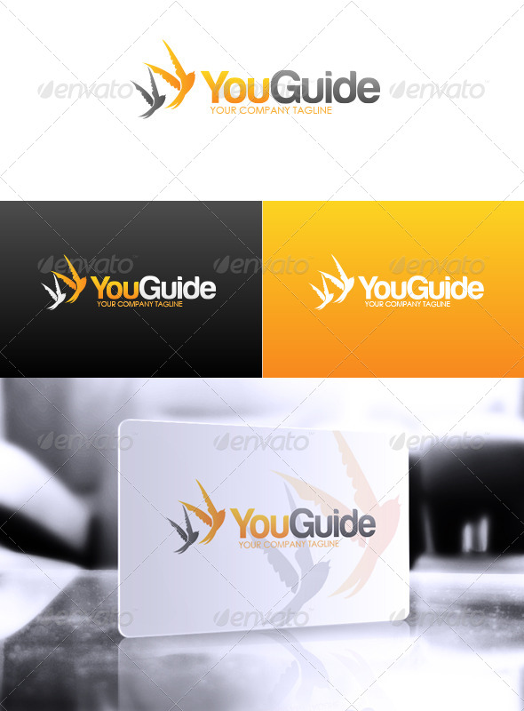 You Guide Logo - Animals Logo Templates