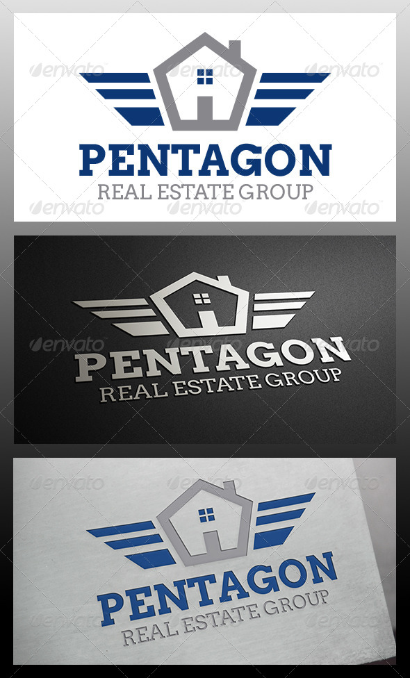 House Crest Logo Template - Buildings Logo Templates