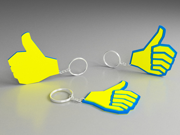 Promotional gift Key chain - 3DOcean Item for Sale