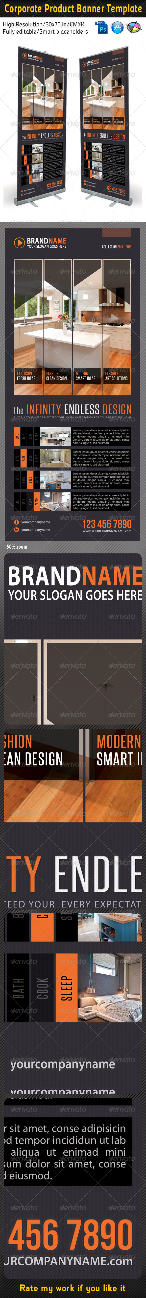 Corporate Multipurpose Banner Template 25 - Signage Print Templates