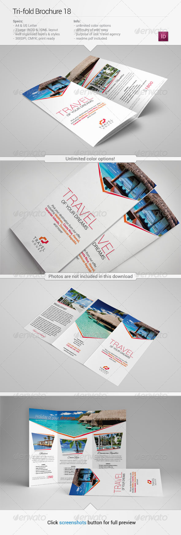 Tri-Fold Brochure 18 - Informational Brochures