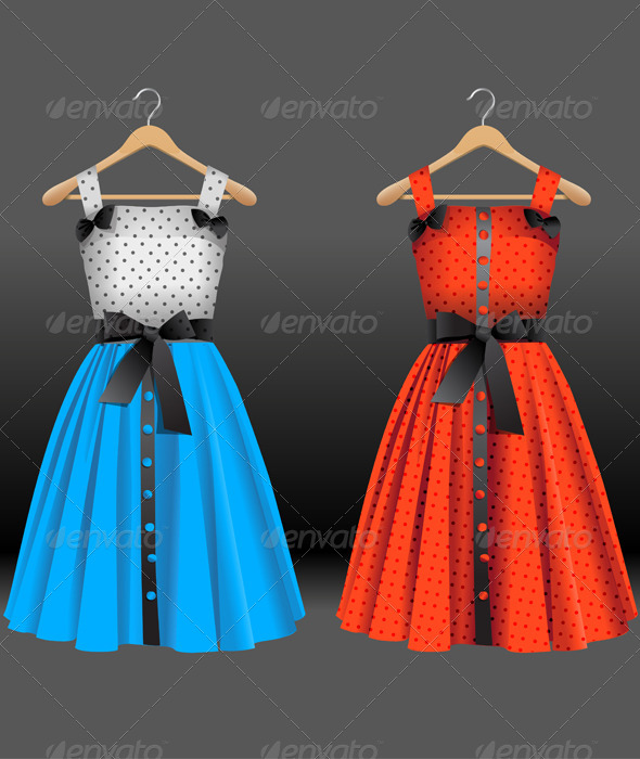 Fashion Dresses - Man-made Objects Objects