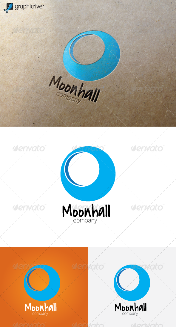 Moonhall Logo - Objects Logo Templates
