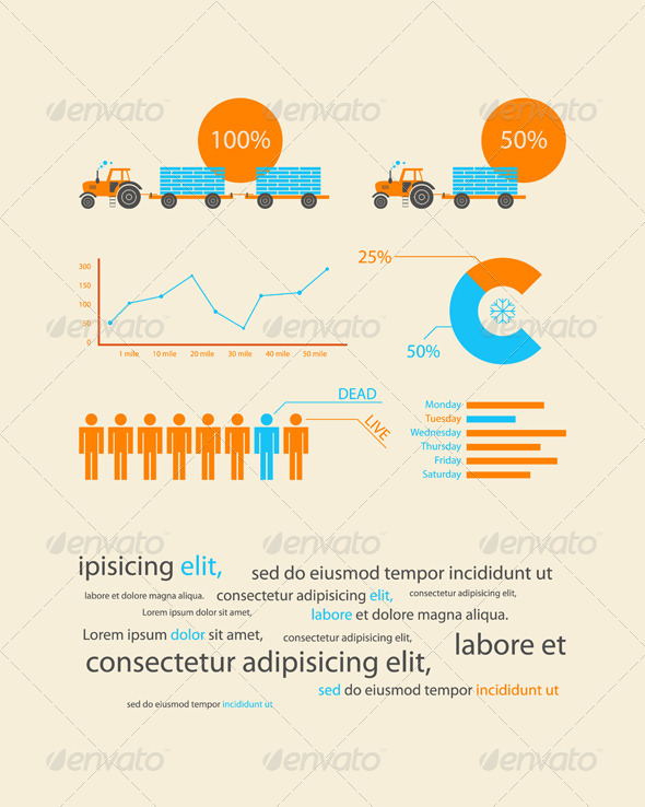 Infographics as a business record development  - Infographics