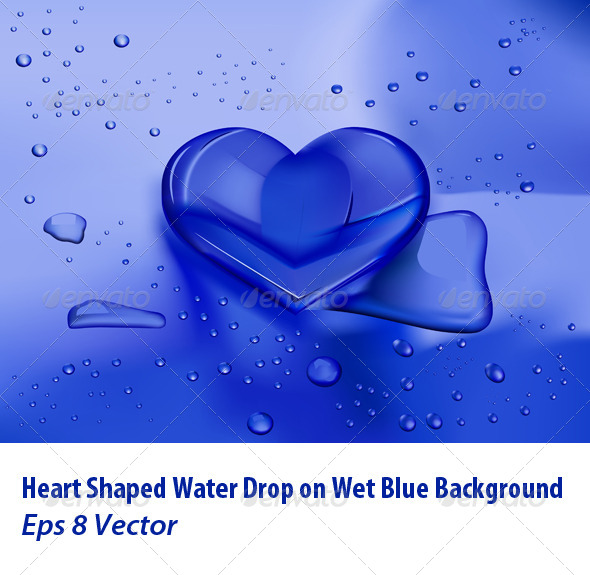 Heart Droplet - Valentines Seasons/Holidays