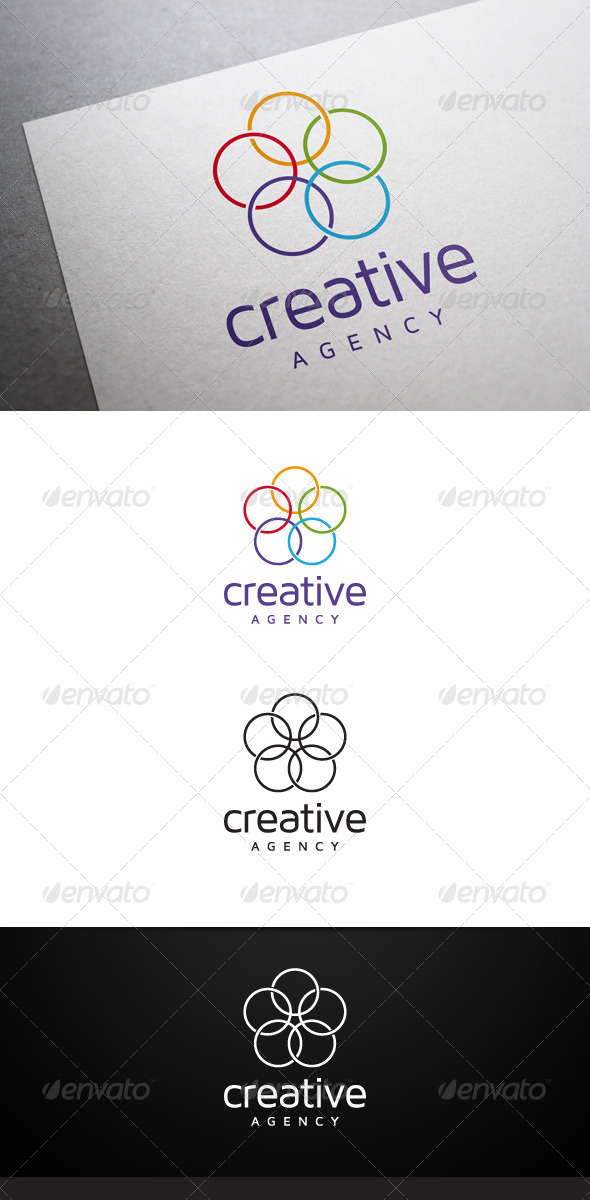 Creative Agency Logo - Abstract Logo Templates