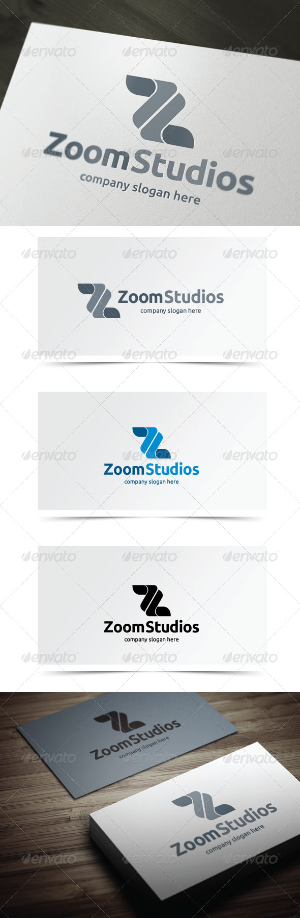 Zoom Studios - Letters Logo Templates