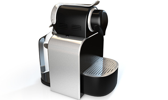 Realistic High-End Nespresso Model and Light Setup - 3DOcean Item for Sale