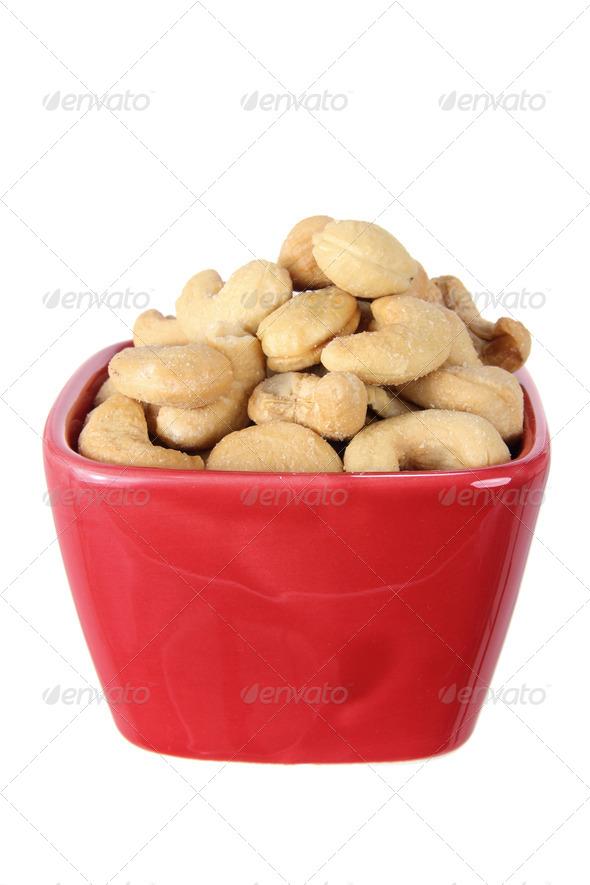 Bowl of Cashew Nut - Stock Photo - Images