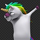 Dabbing Unicorn - VideoHive Item for Sale