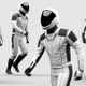 Astronaut Jogging Forward - VideoHive Item for Sale