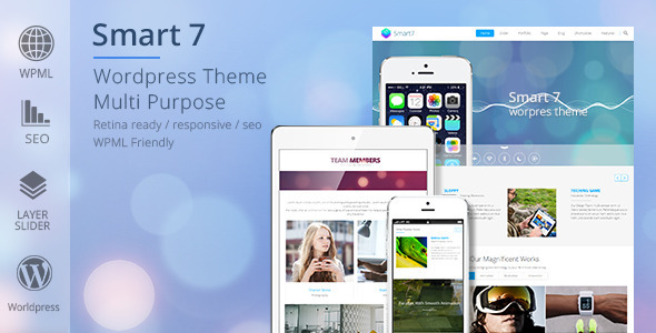 Smart7 – Multi-Purpose Responsive Theme