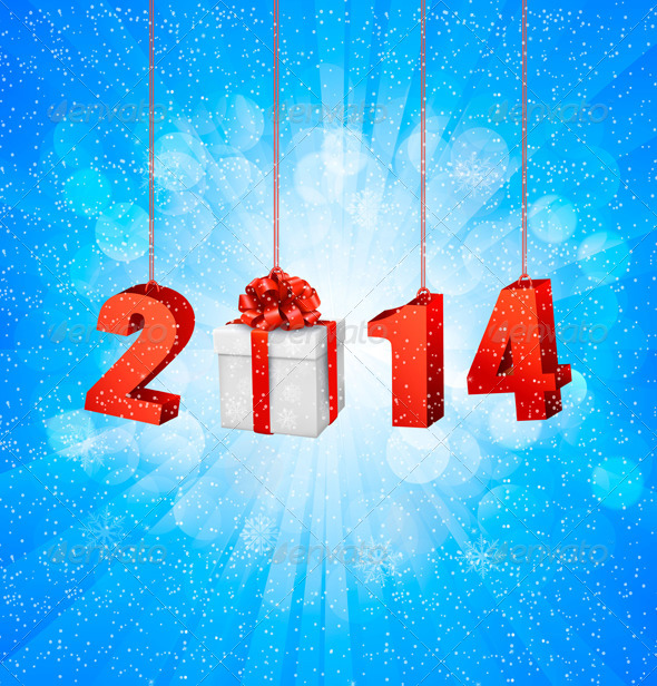 Happy New Year Design Template - New Year Seasons/Holidays