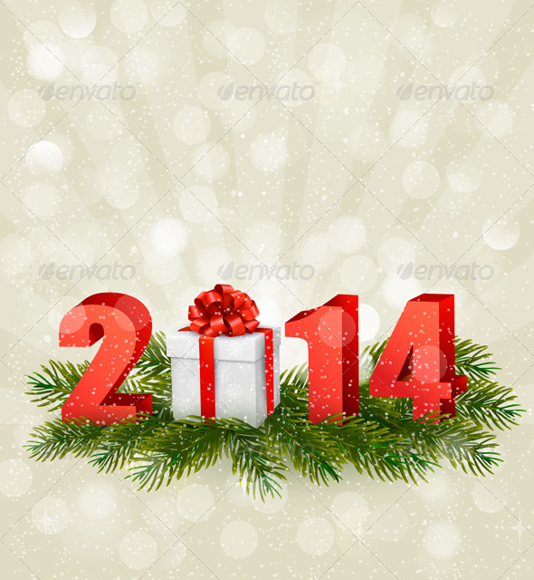 Happy New Year Design Template.  - New Year Seasons/Holidays