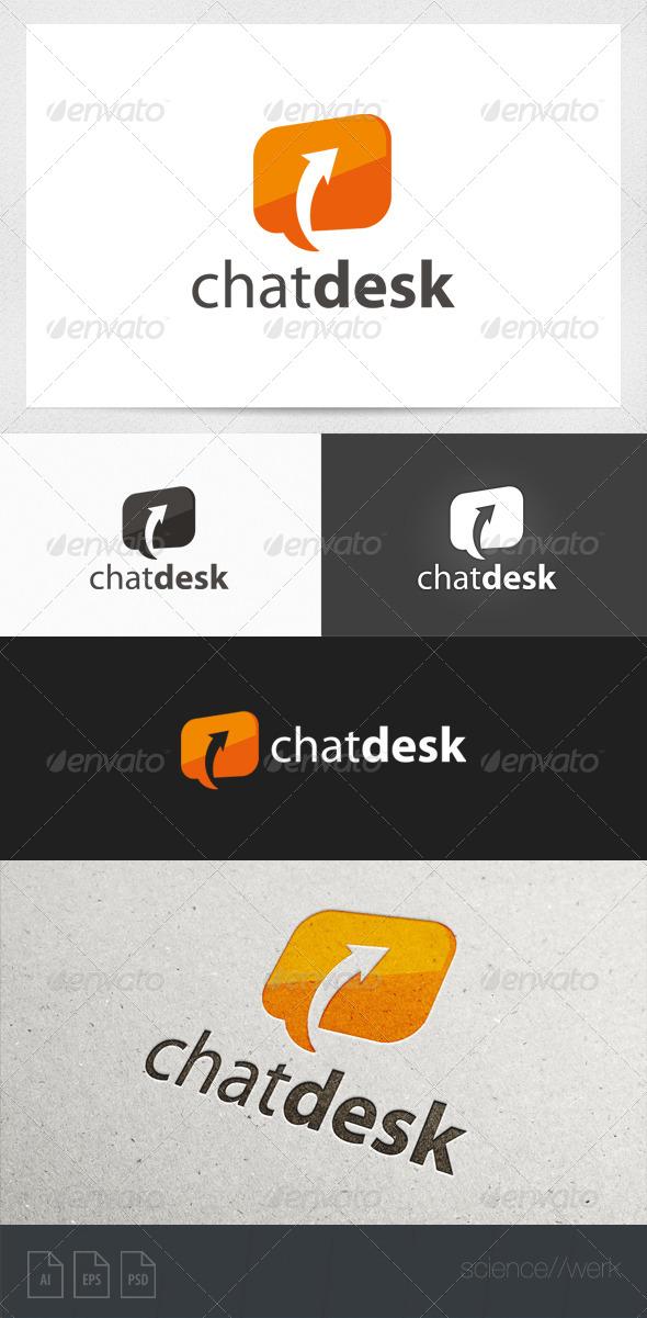 Chat Bubble Logo  - Symbols Logo Templates