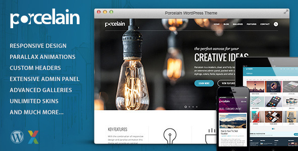 Porcelain – Responsive Multi-Purpose Theme
