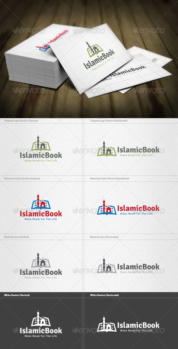 Islamic Book Logo - Symbols Logo Templates