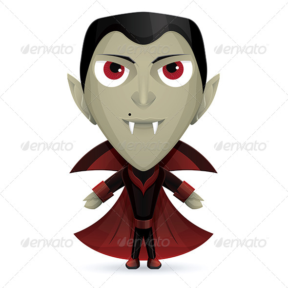 Dracula Happy - Monsters Characters