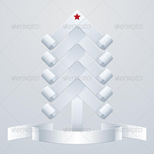 Fir-Tree Object - Christmas Seasons/Holidays