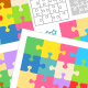 Bundle of Puzzle Templates and Patterns - GraphicRiver Item for Sale
