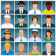 Business People Icons. Vector Collection - GraphicRiver Item for Sale