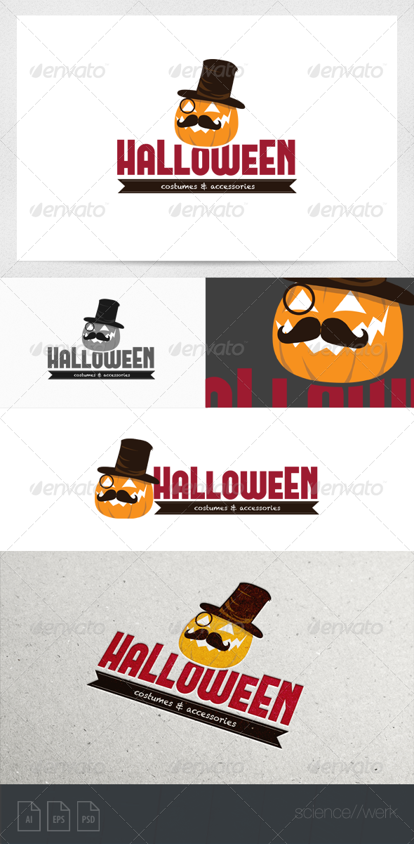 Halloween Logo  - Objects Logo Templates