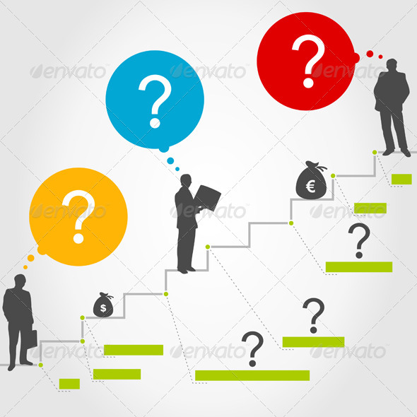 Business Ladder 3 - People Characters