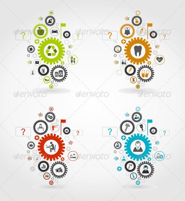 Gear Wheel 7 - Miscellaneous Vectors