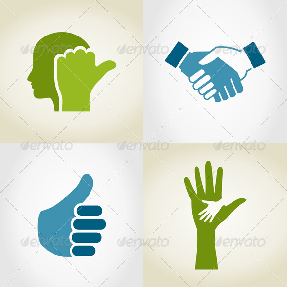 Set of Hands 5 - People Characters