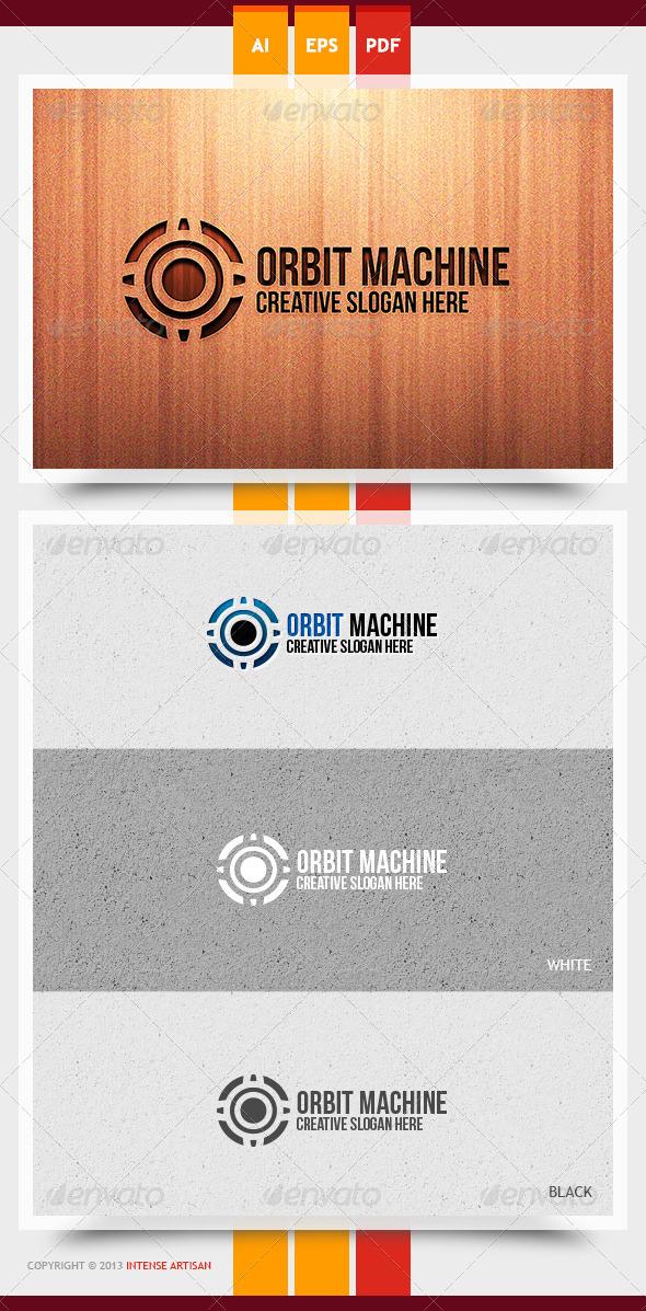 Orbit Machine Logo Template - Objects Logo Templates