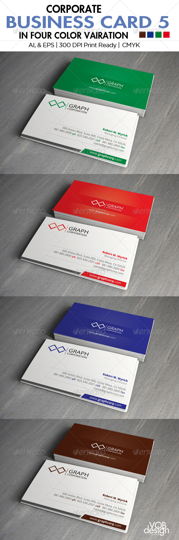 Corporate Business Card 5 - Creative Business Cards