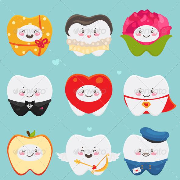 Teeth on Valentines Day - Valentines Seasons/Holidays