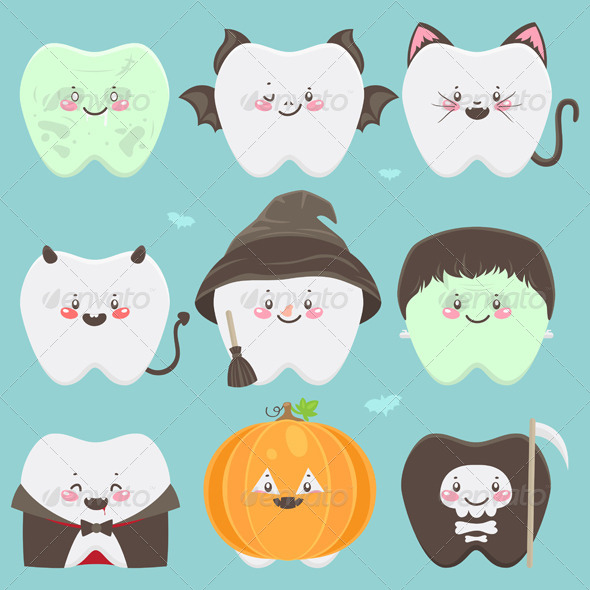 Halloween Teeth - Halloween Seasons/Holidays