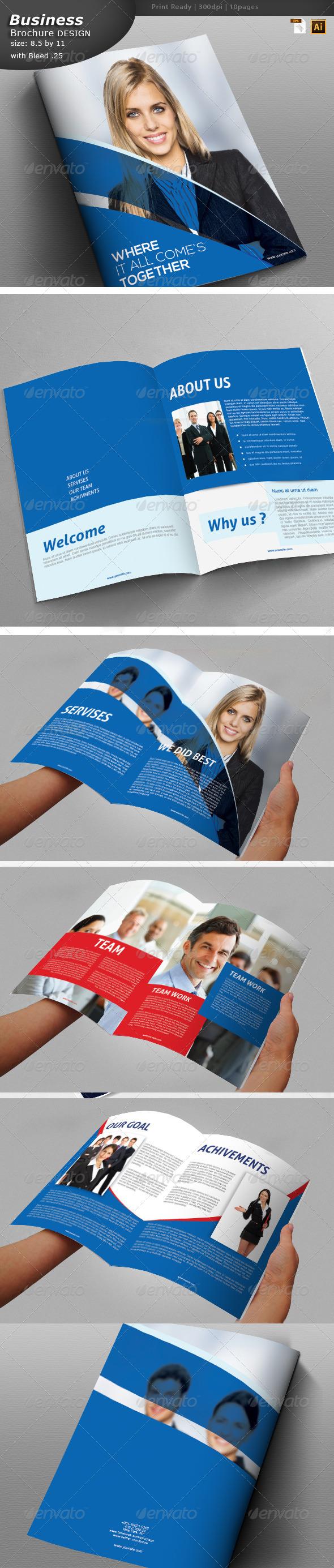Consulting Brochure Design  - Brochures Print Templates