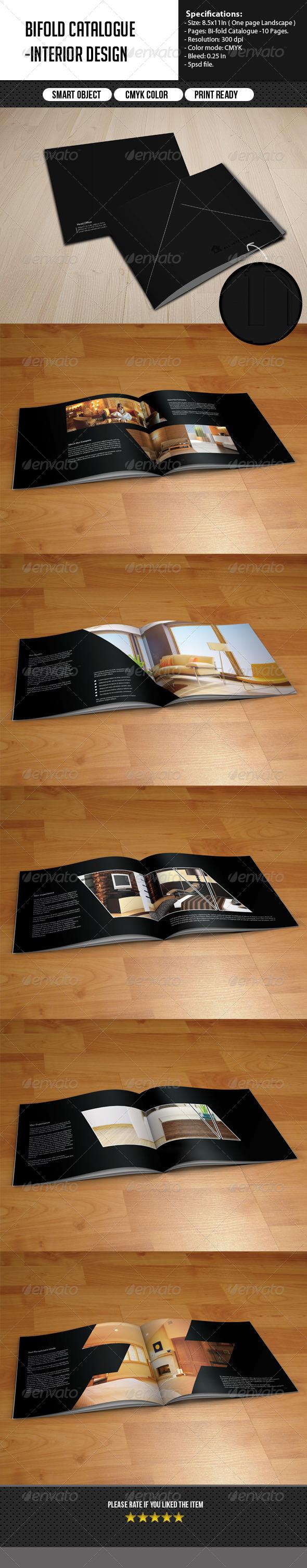 Bifold Catalog -Interior Design - Catalogs Brochures