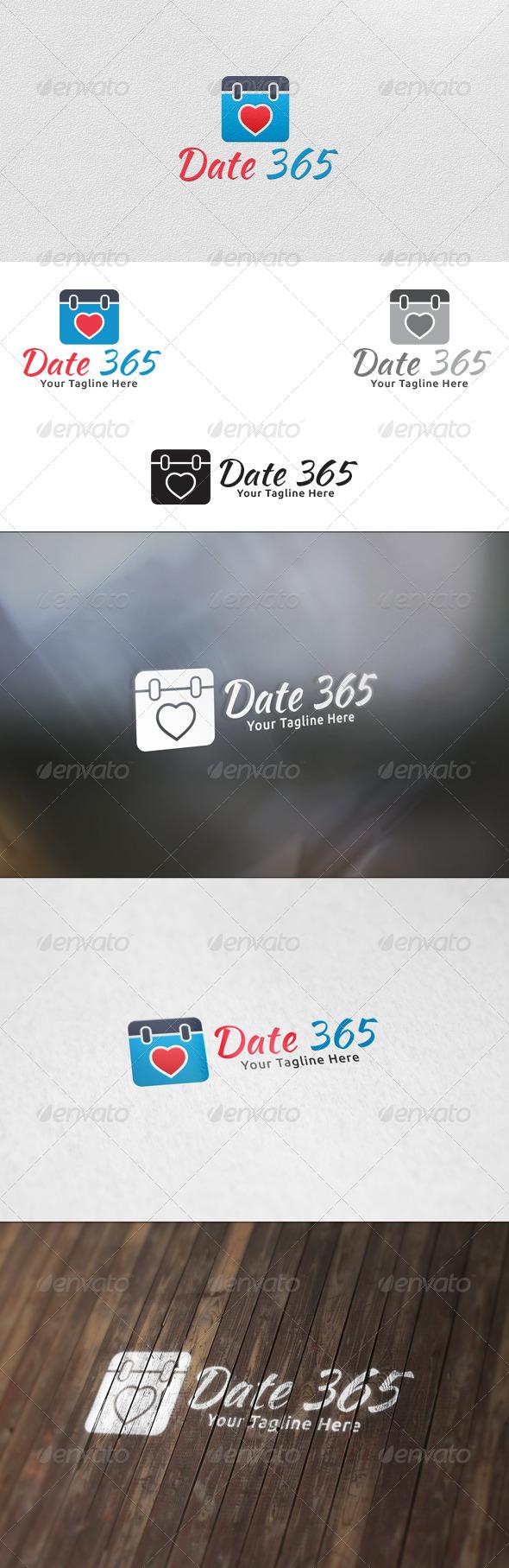 Date 365 - Logo Template - Symbols Logo Templates