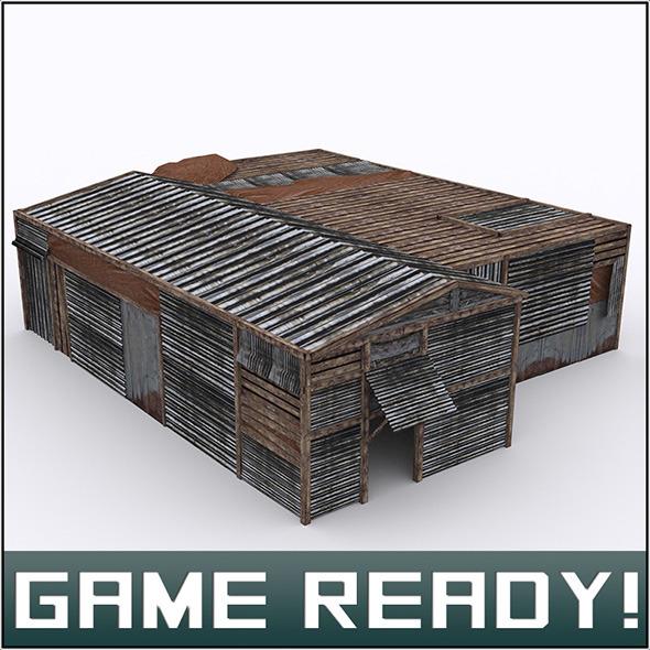 Slums Building #2 - 3DOcean Item for Sale