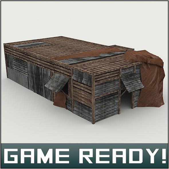 Slums Building #3 - 3DOcean Item for Sale