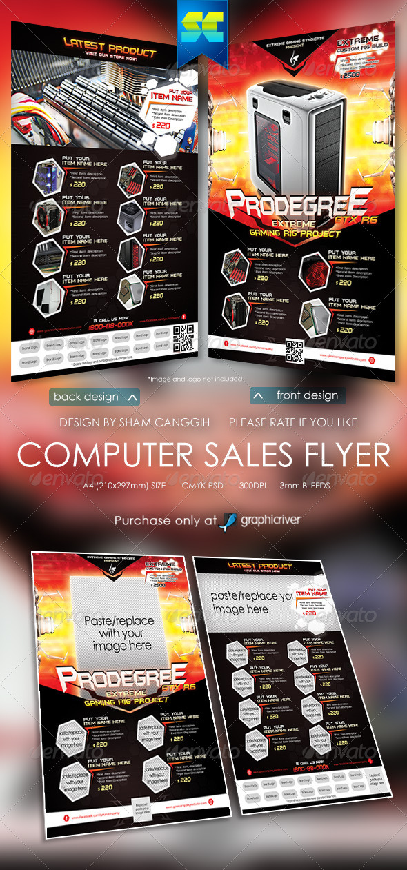 Extreme Computer Sales Flyer - Miscellaneous Events