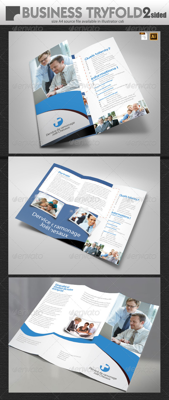 Multi Purpose Tri-Fold  - Brochures Print Templates