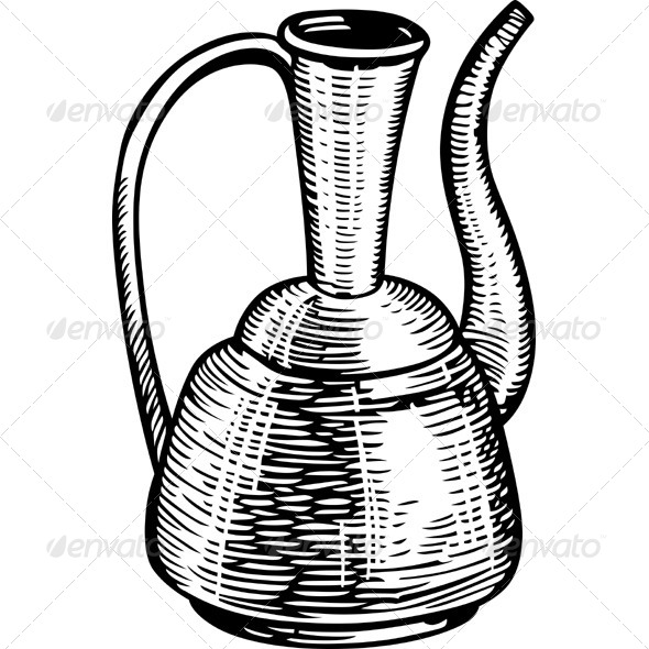 Old Jug - Man-made Objects Objects