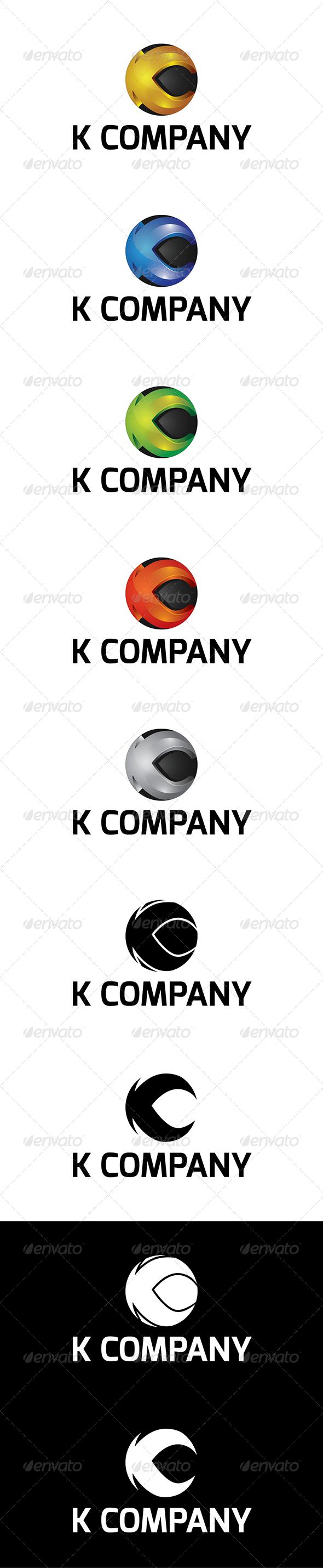 K Company Logo - Company Logo Templates