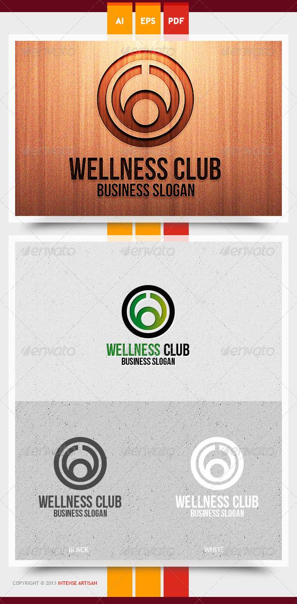 Wellness Club Logo Template - Humans Logo Templates