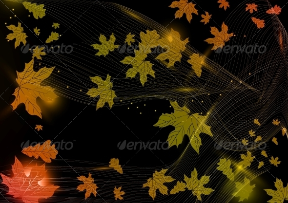 Abstract Autumn Background - Retail Commercial / Shopping