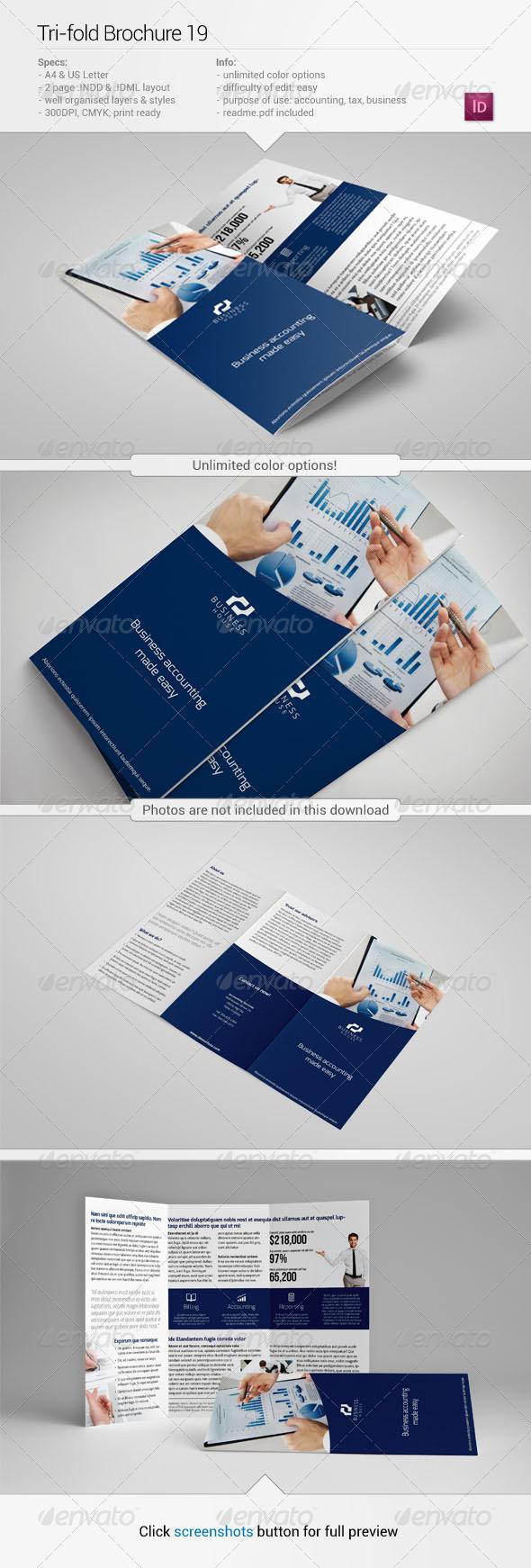 Tri-Fold Brochure 19 - Corporate Brochures