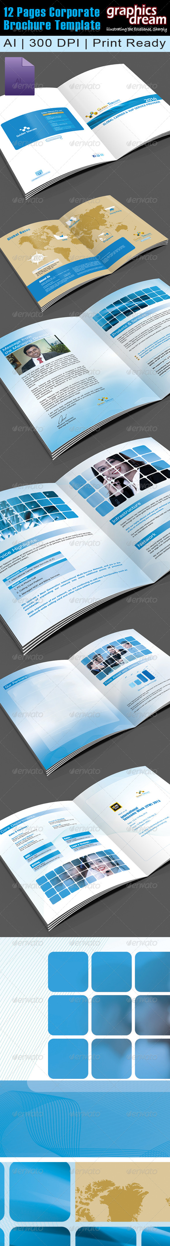12 Pages Corporate Brochure 001 - Corporate Brochures